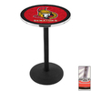 Holland Ottawa Senators Stainless Steel Round Dining Table