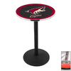 Holland Phoenix Coyotes Stainless Steel Round Dining Table