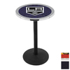 Holland Los Angeles Kings Stainless Steel Round Dining Table