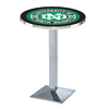 Holland University of North Dakota Chrome Round Dining Table