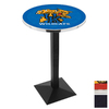 Holland University of Kentucky Black Wrinkle Round Dining Table