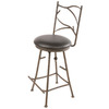 Stone County Ironworks Pine Natural Black 25-in Counter Stool