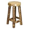 Montana Woodworks Glacier Country Stained and Lacquered 30-in Bar Stool