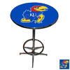 Sports Fan Products Chrome Oval Dining Table