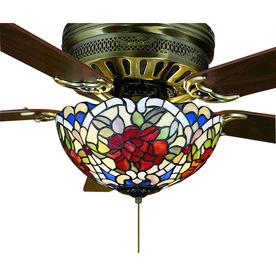 Shop Meyda Tiffany 3 Light Mahogany Bronze Ceiling Fan
