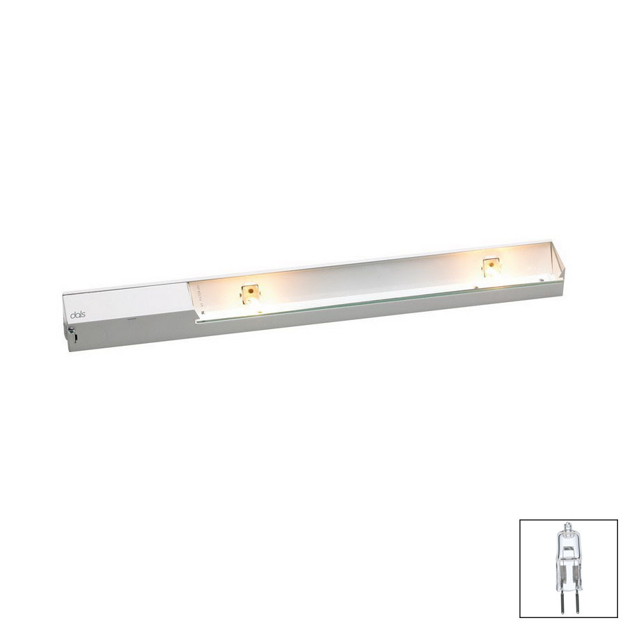 shop dals lighting hardwired cabinet xenon light bar kit