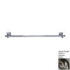 D'Artefax Bamboo Antique Brass 24-in Towel Bar