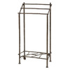 Stone County Ironworks Pine Natural Black 18-in Towel Bar