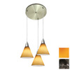 Access Lighting Inari Silk Oil-Rubbed Bronze Multi-Pendant Light