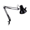 Dainolite Lighting 38-in Adjustable Black Dainolite Lighting Desk Lamp