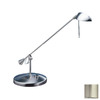 Kendal Lighting Adjustable Satin Nickel Kendal Lighting Desk Lamp