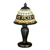 Meyda Tiffany 13-in Mahogany Bronze Meyda Tiffany Desk Lamp