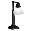 Meyda Tiffany 20-in Mahogany Bronze Meyda Tiffany Desk Lamp