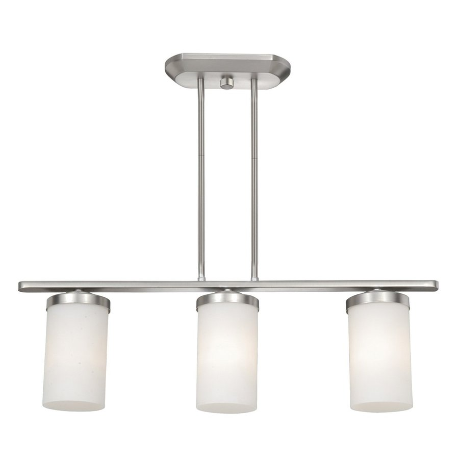 shop cascadia lighting oxford 4 in w 3 light brushed