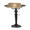Kenroy Home 15-in Oil-Rubbed Bronze Kenroy Home Desk Lamp