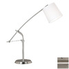Kenroy Home 36-in Adjustable Brushed Steel Kenroy Home Desk Lamp
