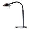 Kenroy Home Basis 21-in Adjustable Black Desk Lamp with Metal Shade