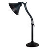 Kenroy Home Amherst 27-in Adjustable Oil Rubbed Bronze Desk Lamp with Metal Shade