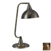 Kenroy Home 20-in Adjustable Antique Brass Kenroy Home Desk Lamp