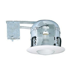 Shop Nicor Lighting 6 In Remodel Shallow Recessed Light Housing At