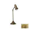 Lustrarte 18-15/16-in Adjustable Matte Antique Brass Lustrarte Desk Lamp