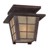Philips Forecast Shoji 10-1/2-in Bronze Outdoor Flush-Mount Light