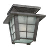 Philips Forecast Shoji 10-1/2-in Gray Outdoor Flush-Mount Light