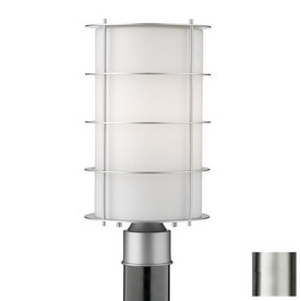 Philips Forecast Hollywood Hills 16-in H Vista Silver Post Light