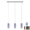Paulmann 52-3/4-in Brushed Nickel Multi-Pendant Light