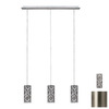 Paulmann 52-3/8-in Brushed Nickel Multi-Pendant Light
