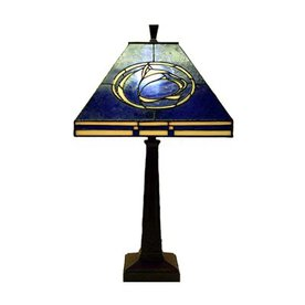 Traditions Artglass 24-in French Verde Traditions Art Glass Desk Lamp