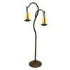 Creative Creations 69-in 2-Light Bronze Floor Lamp