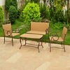 International Caravan 4-Piece Valencia Patio Conversation Set