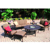 Darlee 7-Piece Ten Star Patio Conversation Set