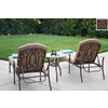 Darlee 3-Piece Florence Patio Conversation Set