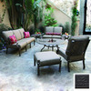 Darlee 4-Piece Santa Barbara Patio Conversation Set