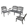 Crosley Furniture 3-Piece Sedona Patio Conversation Set