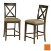 Atlantic Furniture Lexington Caramel Latte 25.5-in Counter Stool