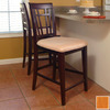 Atlantic Furniture Montego Bay Caramel Latte 25.5-in Counter Stool