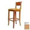 Alston Quality Industries Biedermeier Natural 30-in Bar Stool