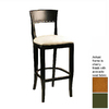 Alston Quality Industries Biedermeier Cherry 30-in Bar Stool