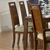 Homelegance Set of 2 Campton Tobacco Brown Dining Chairs