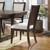 Somerton Home Furnishings Set of 2 Shadow Ridge Dark Chocolate Dining Chairs