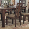 Somerton Home Furnishings Set of 2 Enchantment Natural Walnut Dining Chairs