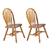Sunset Trading Sunset Selections Light Oak Dining Chair