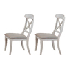 Sunset Trading Sunset Selections Antique White Dining Chair