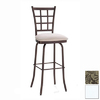 Amisco Countryside Semi-Gloss Snow 31.75-in Bar Stool