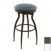 Amisco Eco Vintage Semi-Gloss Snow 26-in Counter Stool