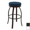 Amisco Hollywood Semi-Gloss Snow 24-in Counter Stool