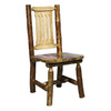 Montana Woodworks Glacier Country Stained and Lacquered Dining Chair